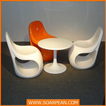 Ice Cream Shop Wholesale Modern Fashion Fiberglass Chair