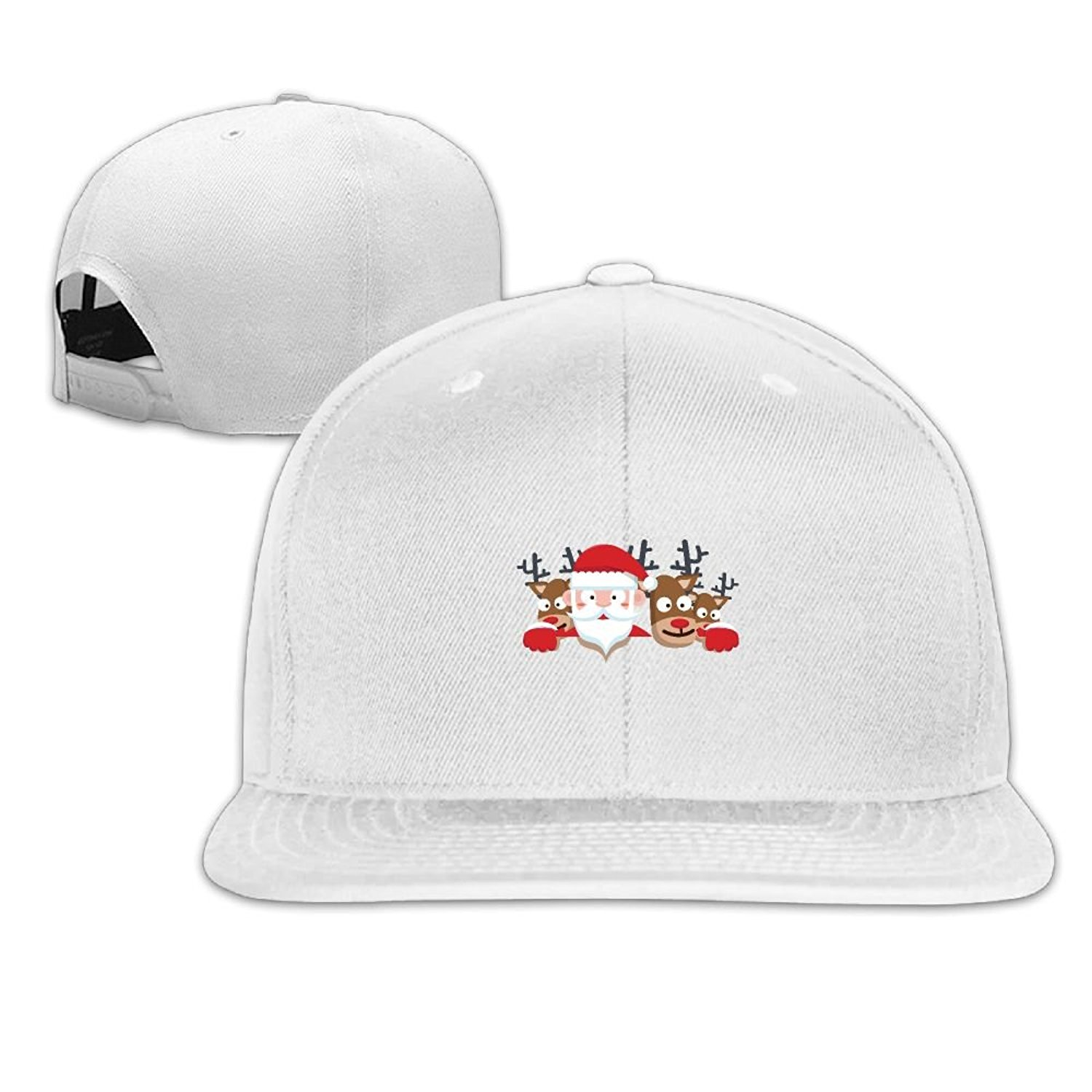 4ca74c8a5c184 Get Quotations · Simoner Santa Claus Hip Hop Baseball Caps Snapback Hats