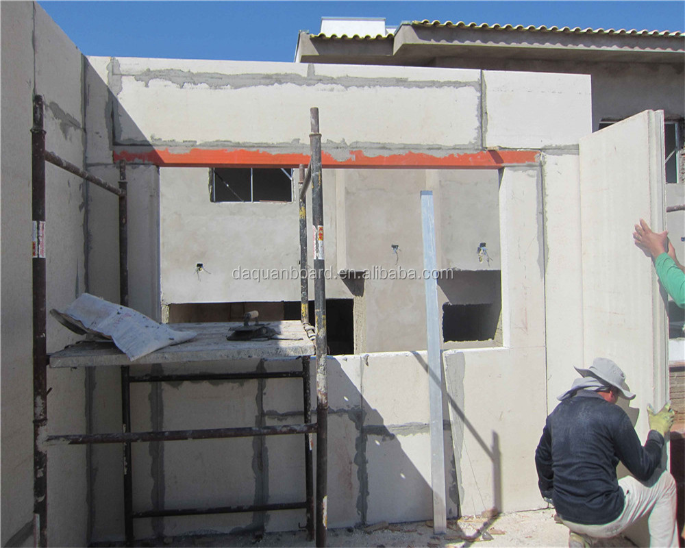 light weight and easy installation prefab houses be made with eps cement wall panels 150mm