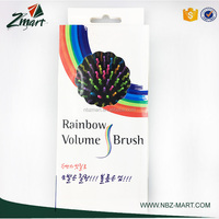 2017 best selling Zmart popular new products rainbow volume airbag hair brush