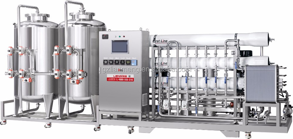 LM-RO-C Full automatic intelligent reverse osmosis water treatment
