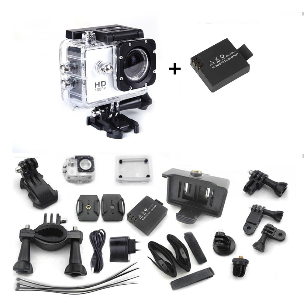 Original Mini Camcorders Gopro Hero 3 Full HD DVR SJ4000 Video Sport Go Pro