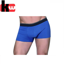 Sexy Plain Blue Custom Brand Underwear Men Boxer Briefs for Man