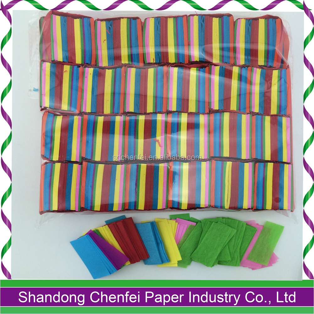 Wholesale Party Items Flame Retardant Paper Confetti for Party