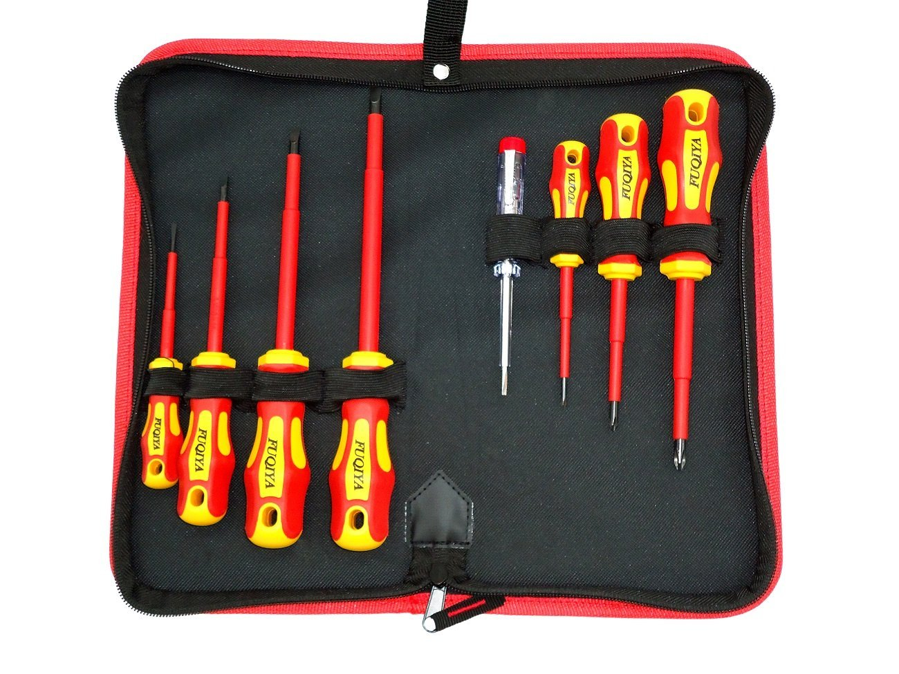 Cheap Vde Screwdriver Find Deals On Line At Alibabacom Wera Kraftform Voltage Tester Circuit Testers Get Quotations Fuqiya 02008 8 Piece 1000v Insulated Set