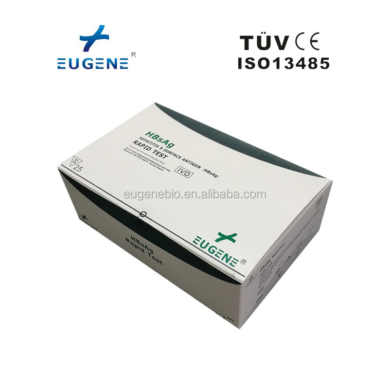 Hepatitis B Surface Antigen HBsAg Rapid Test Strip