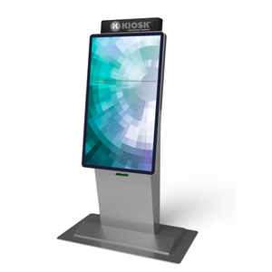 42'' Multi Point Android Indoor Stand Horizontal Touch Screen Interactive LCD Digital Information Kiosk