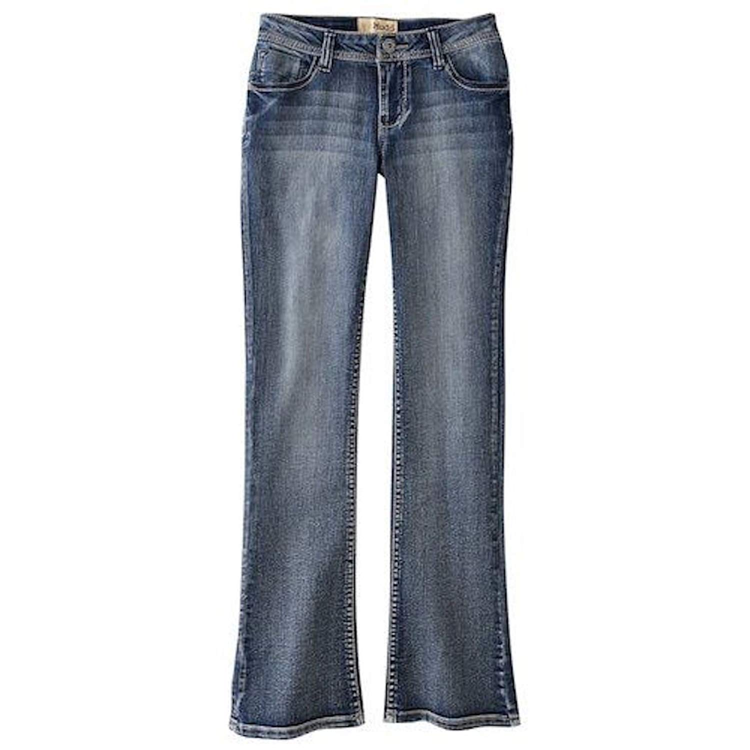 59c53d61f68 Get Quotations · Mudd Girls Bootcut Jeans Size 6R MSRP  38 Basic Denim  Light Wash