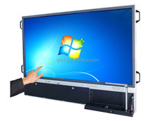 Smart board with visual presenter LED interactive touch monitor 2015 new touch screen monitor