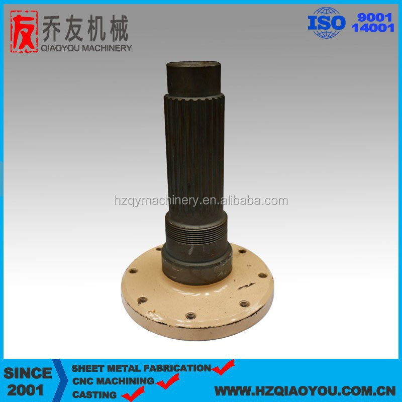 High precision CNC machining parts from China, customized high quality casting