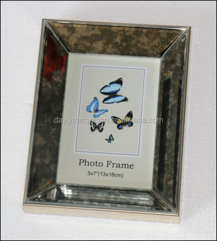 Glass Mirror Photo Frame 5x7 Wholesale Photo Frame Suppliers Alibaba