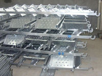 hot dipped galvanized Scaffolding Catwalk used for construction oil and gas project