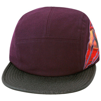 Snapback Fitted Girl Skateboards 5 Panel Hat leather Brim 5 Panel ... 7d601f249e4