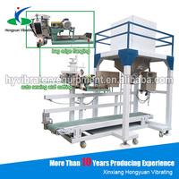 auto 25-50kg bag filling weighing industrial salt packaging machine