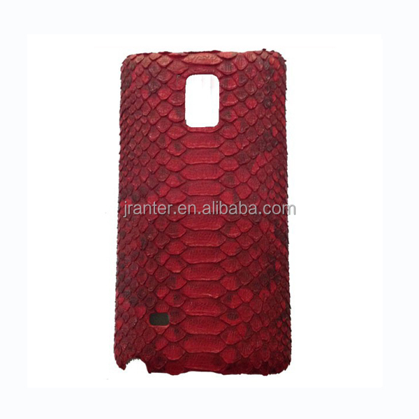 Genuine Python Leather Mobile Phone Cover