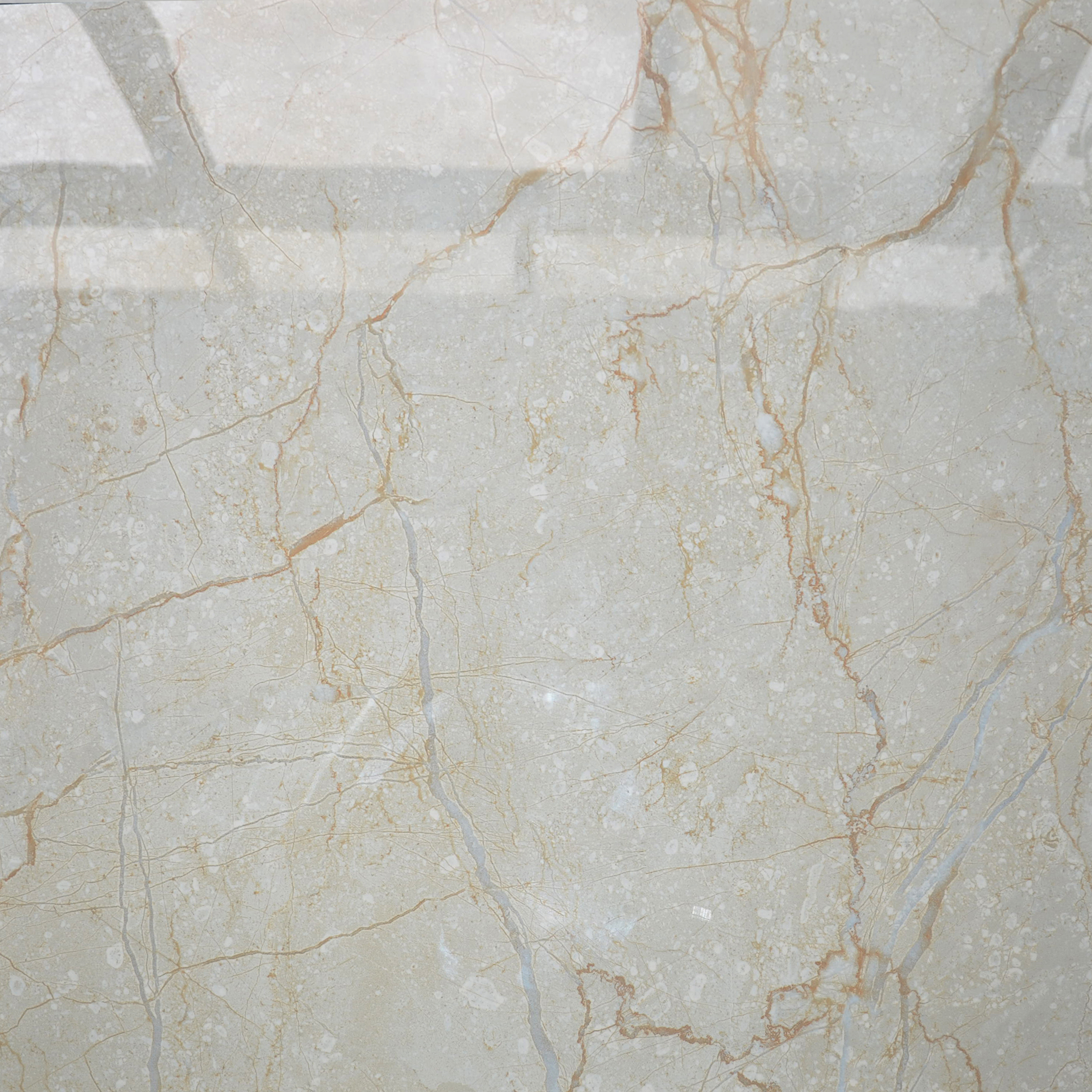 HB6253 azulejo blanco estupendo, blanco de Carrara azulejo, alto brillo blanco baldosa