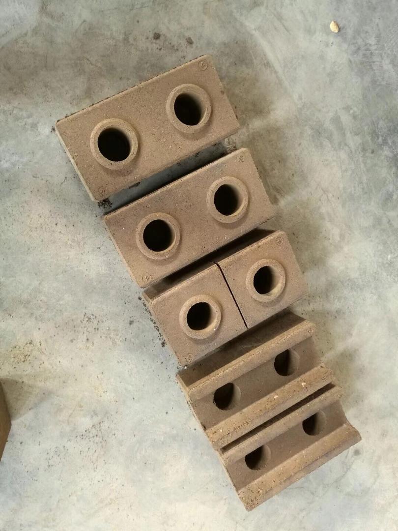 خطط المنزل الصحافة الصغيرة دليل الطين المتشابكة الطوب ماكينة للبيع