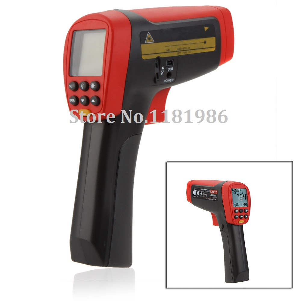 uni t ut305a non contact 50 1 infrared ir thermometer laser temperature gun meter sensor 50 1050. Black Bedroom Furniture Sets. Home Design Ideas
