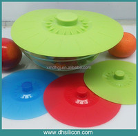 "Food rade material/FDA,LFGB/5""-10"" /5in pack / universal silicone lid"