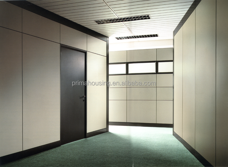 Movable Wooden Acoustic Soundproof Office Partition Walls