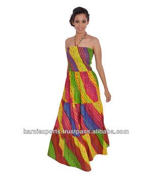 698cb78041f6 Beautiful evening dress 2018 / Women cocktail dress & maxi gowns wear in  cotton fabric