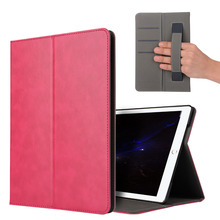 PU Leather Folio Smart Cover with Auto Sleep Wake Stand Wallet Case for New iPad 10.5 Inch 2017