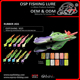 Wholesale hot sale artificial bait rubber jig head bass jigs in OSP fishing lure 9021