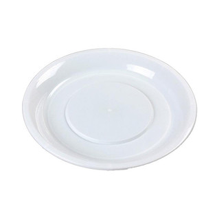 100% Biodegradable Disposable Eco-friendly Material Durable Heat Plastic  PLA Plates & Dishes Round PLA Plate