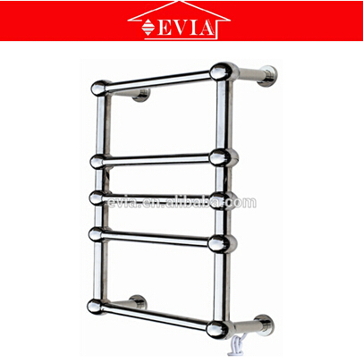 EVIA stainless steel polished electric heated towel rail