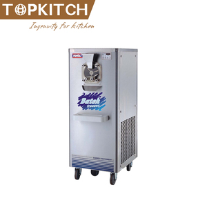 Italy Compressor Pre Cooling System 3 Flavor CE Approved Making Fried Ice Cream Blending Machine