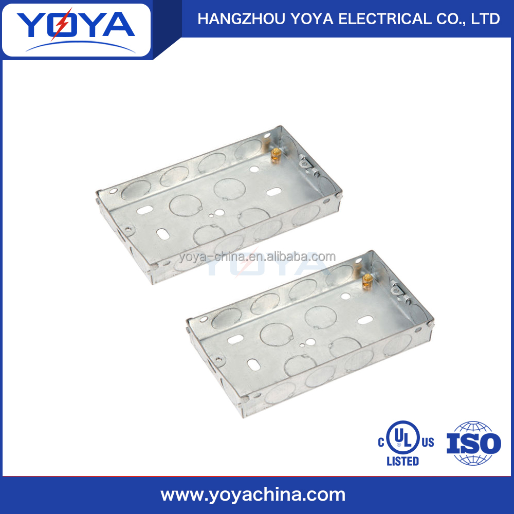 BS electrical rectangular Alibaba China switch boxes