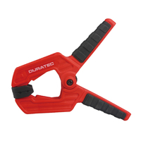 Heavy duty plastic spring clamp flexible strong A type extra large clip nylon spring clamps