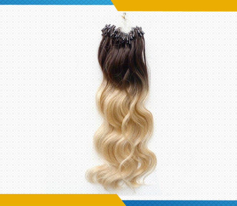 Hot sale fashion ombre 100 cheap remy micro rings loop wavy hair hot sale fashion ombre 100 cheap remy micro rings loop wavy hair extensions pmusecretfo Image collections