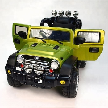 Jeep Children S Electric Ride On Car Kids Toy Car View Large Toy