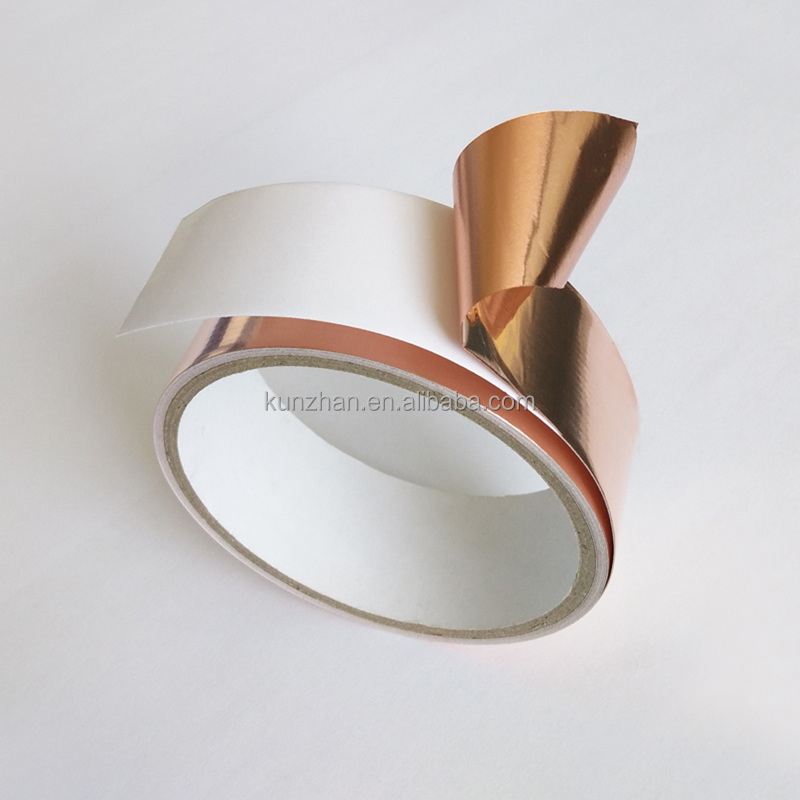 New and hot selling acrylic adhesive insulation copper foil tape backed paper