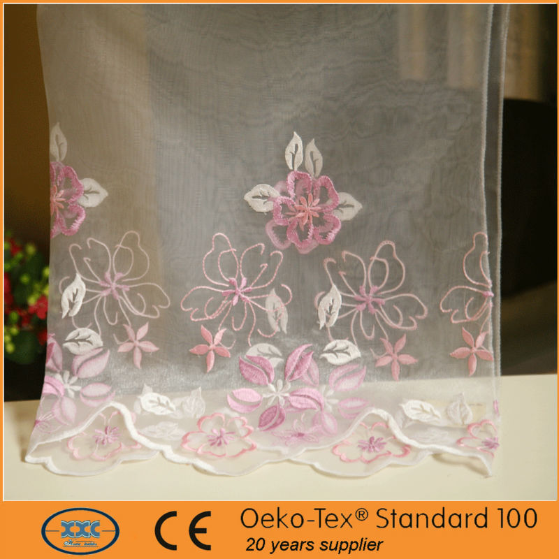 Traditional Classic Process With Fashion Embroidery office curtains pictures
