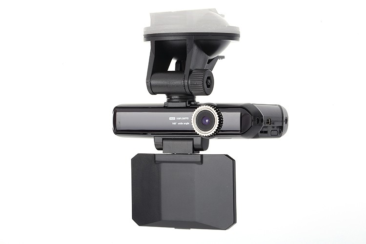 High quality 120 degree viewing angle car dvr recorder