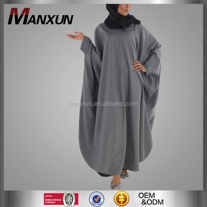 Hoogwaardige moslim mantel mode kimono kaftan abaya met for Islamitische sportkleding vrouwen