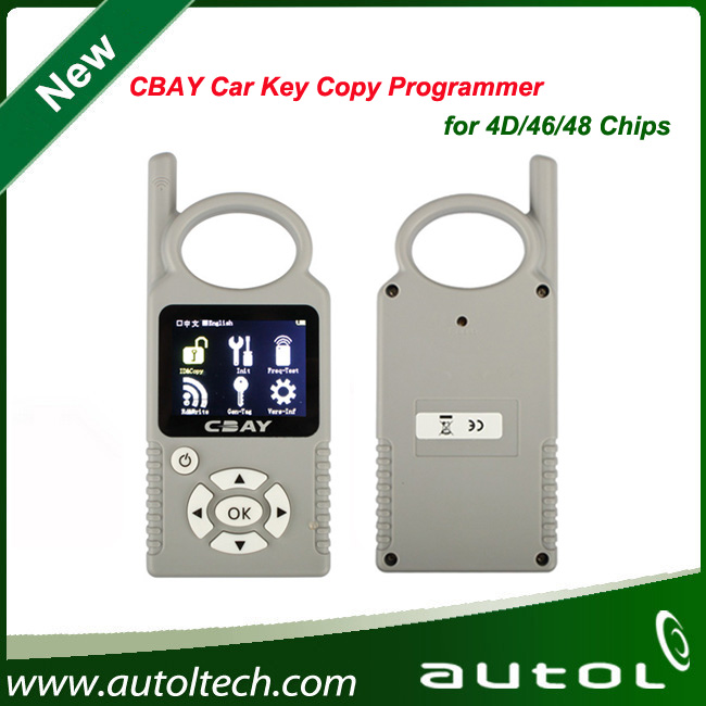 Auto key copying machine CBAY key Programmer for 4D/46/48 Chips test the key remote frequency