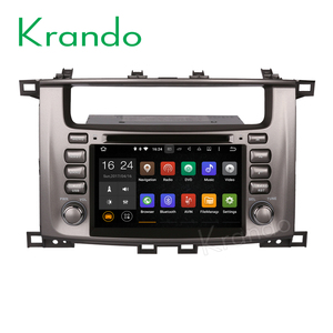 "Krando car dvd radio Android 7.1 7"" for Toyota Land Cruiser 100 1998-2007 LC100 lexus LX 470 gps navigation KD-TL798"