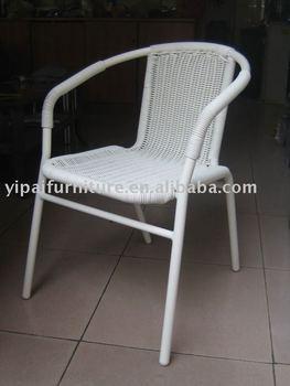 Aluminum Rattan Chair White Modern Garden Outdoor Coffee Leisure Garden  Chairs - Buy Aluminum Rattan Chair,Garden Rattan Chair,Outdoor Chair  Product ...