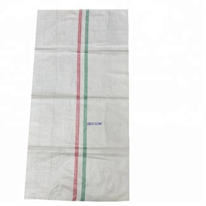 manufacture price high quality 50kg flour packaging pp bag 20kg empty pp woven bag