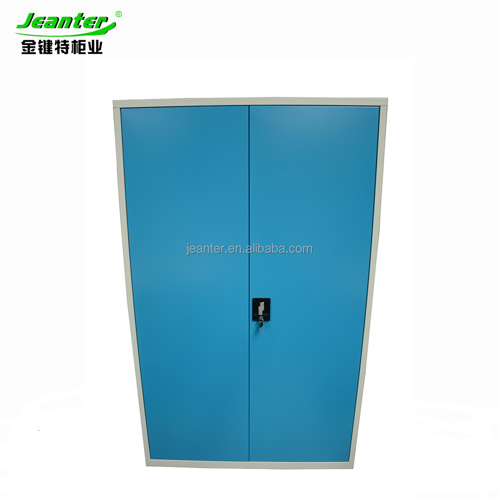 Steel Office Furniture Storage Metal Colorful Swing 2 Door Filing Cabinet