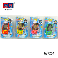 Funny handheld game player play brick game 9999 in 1 for kids