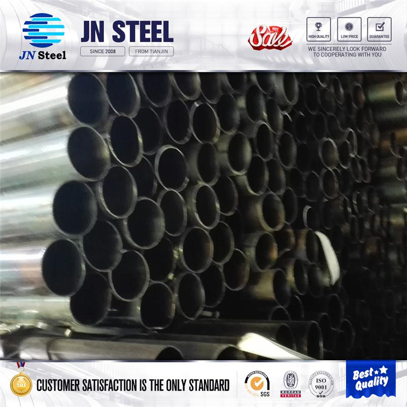 astm a500 grade b ERW Welded Steel Round Hollow Section Pipe / scaffold tubing