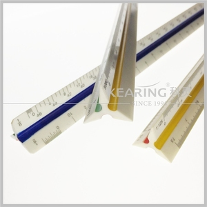 30cm metric architect 3 parts Triangle Scale Ruler / triangular 3 parts scale ruler