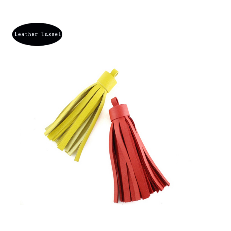 Good quality Small leather tassel for shoe