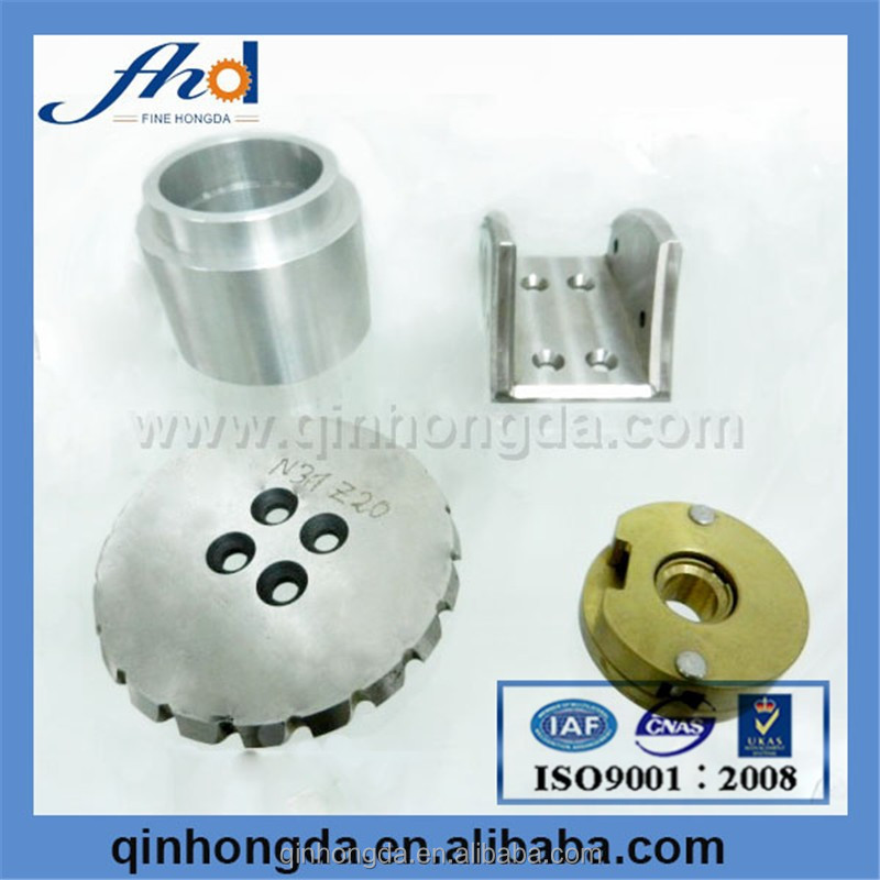 CNC precision machining turned parts fast auxiliary plate
