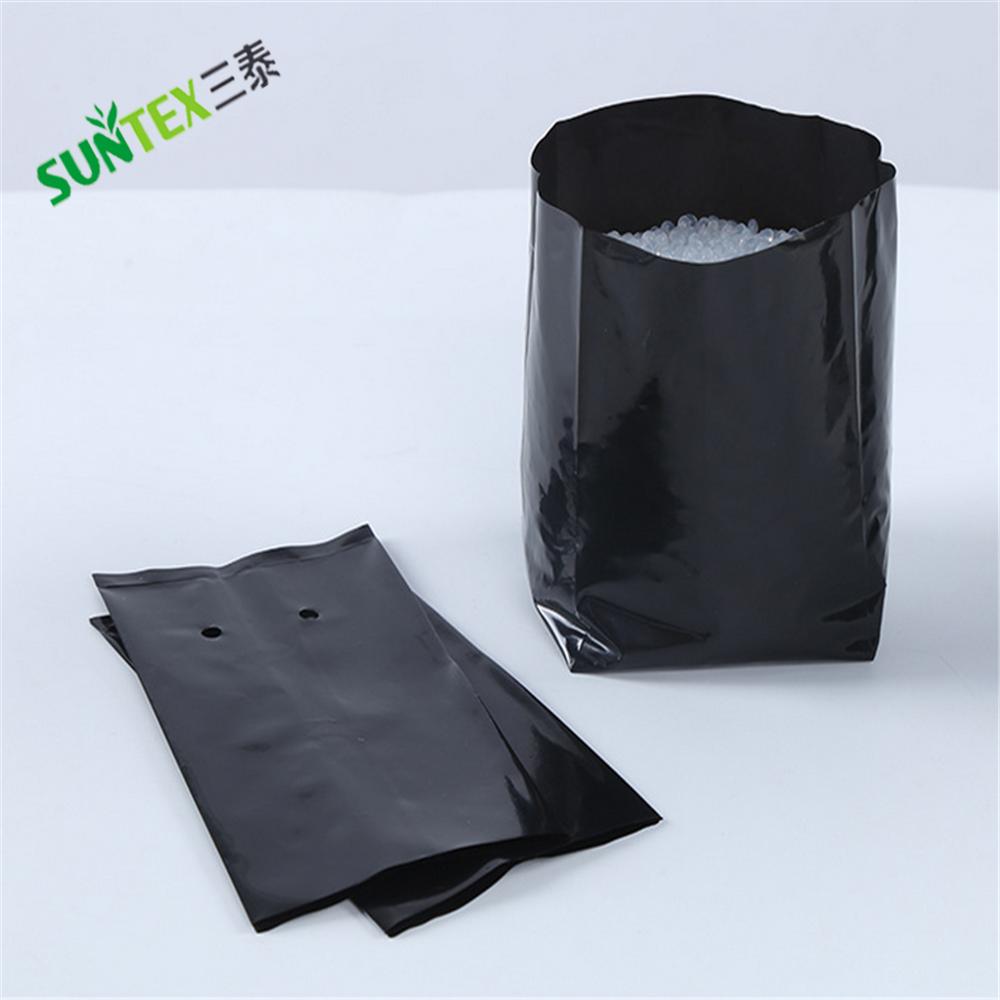 Plastic Pe Grow Bags White Outside And Black Inside 15 Gallon Plant Bag Polyethylene Fabric For Plants Uv Resistant Greenhouse