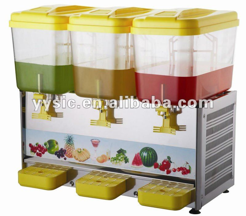 Triple Tanks beverage dispenser cold&hot juiceYRSP-18X3